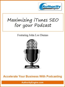 Maximizing iTunes SEO for your Podcast